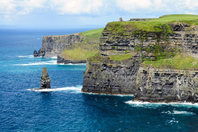 photo of the Cliffs of Moher