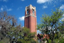 Century Tower on UF campus