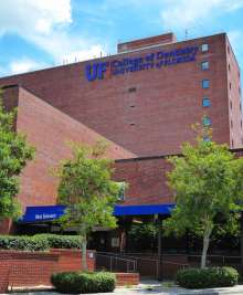 Ext of UF Dental Tower